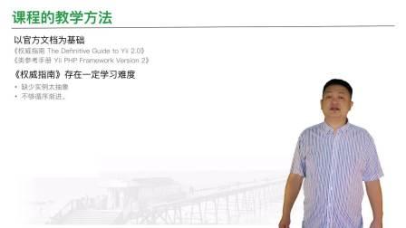 1.5倍速《Yii2视频教程》1.1