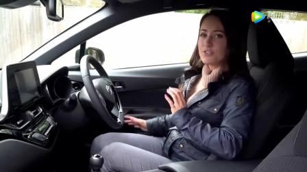 妹子试驾2018款丰田CH-R, 打开车门坐进内饰, 你还会买日产逍客吗