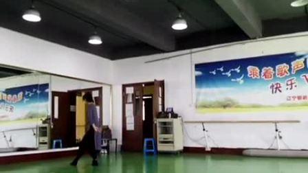 中国古典舞身韵组合—-慢步
