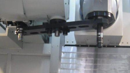 台湾新卫卧式五面体加工中心EBM-换刀演示