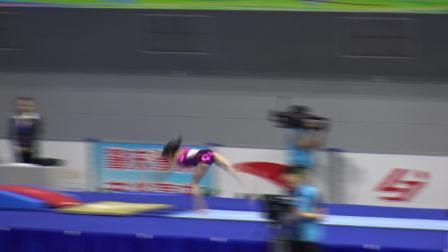 韦筱圆 - Wei Xiaoyuan (山西) VT TQ 2018全国体操锦标赛,肇庆