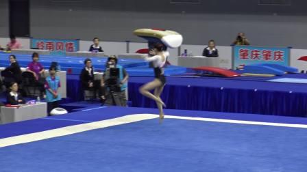林雨遥 - Lin Yuyao (北京) FX TQ 2018全国体操锦标赛,肇庆