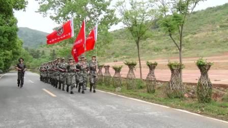 中国西点猎人军事夏令营教官训练展示