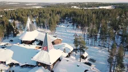 纯白北欧 听一篇浪漫的圣诞童话, 看迷人的极光洒满天际