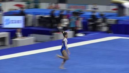赵诗婷 - Zhao Shiting (广东) FX TQ 2018全国体操锦标赛,肇庆