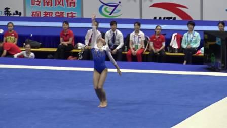 梁绮峰 - Liang Qifeng (广东) FX TQ 2018全国体操锦标赛,肇庆