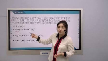 《二氧化碳与氢氧化钠溶液反应后的溶质图像》大连科苑学校李楠老师