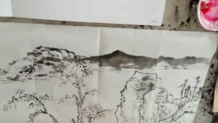 20170406陈武老师示范山水画_高清