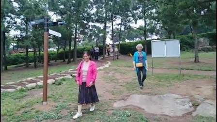 南京玄武湖中学75届(高)4班同学聚会,一群六十多岁的女同学又蹦又跳,开心欢乐。