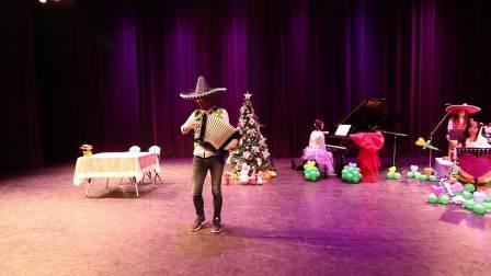 圣诞不诚实手风琴