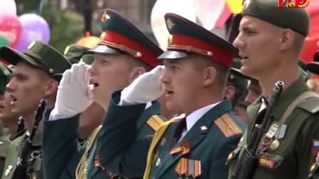 南奥塞梯2018年5月9日阅兵