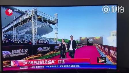 看到柳云龙罗海琼帅哥美女组合啦!#柳云龙2018品质电视剧盛典#
