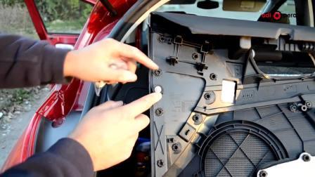 前门面板 前门 拆装 标致308  东风标致 东风雪铁龙 长安DS