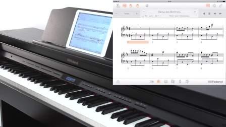 Roland GP  LX  HP 系列快速指南 #08——连接APP Piano Partner 2