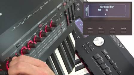 Roland RD-2000快速指南 #08——音色的微调与音栓的使用