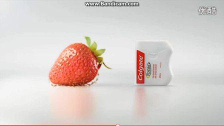 高露洁牙线创意广告