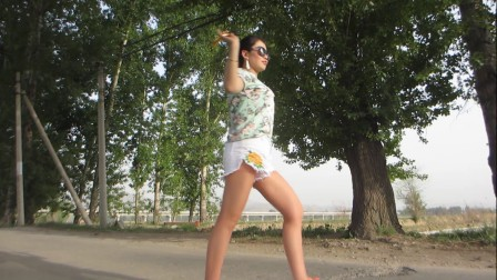 金芙蓉外景舞蹈