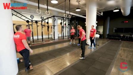 【去健身】CrossFit 综合健身训练 引体向上训练
