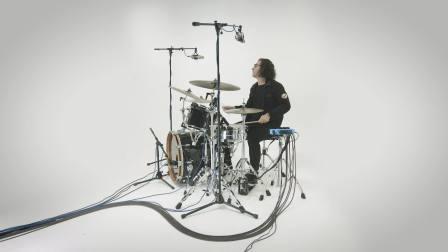 搭配触发器在原声鼓组中使用Roland TM-6 PRO