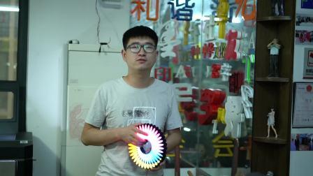 3D打印发光字