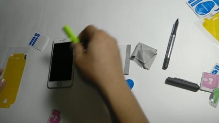 苹果7全屏定位神器贴膜教程