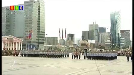 蒙古国2017年7月10日国旗日阅兵