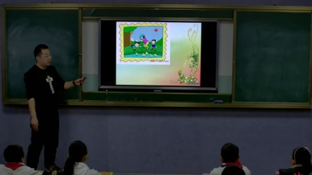 外研版(三起)小学英语六下Module3  Unit 1 The sun is shining.新疆杨坤