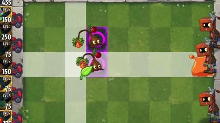 植物大战僵尸2       优质植物    VS    砖头僵尸