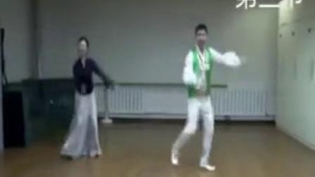 双人鲜族舞蹈