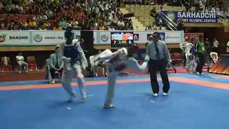 2012伦敦奥运会跆拳道预选赛-M58KG-2 获取更多跆拳