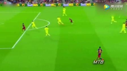 只有梅西能看得见!怪不得说梅西的这些传球比进球更好看
