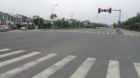 堰宁路与北惠路的T型路口