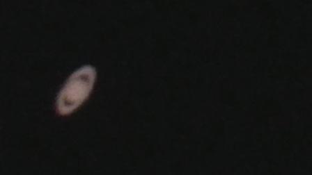 天文望远镜看土星(星特朗127slt+9mm目镜+三星s8+)20180519