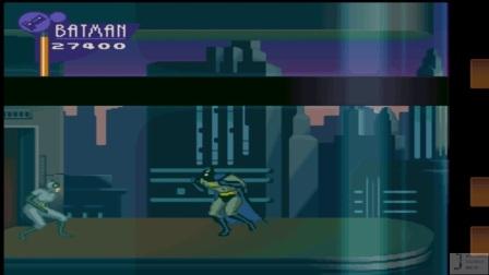 蝙蝠侠与罗宾困难难度一命速通 玩家:MR, 龙