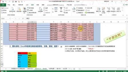 excel表格技巧视频-办公表格软件excel教程和wps表格制作教程视频案例