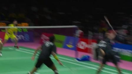 2018汤姆斯杯A组中国VS印度集锦