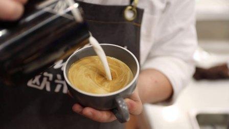 厦门咖啡培训学校:咖啡雕花作品欣赏