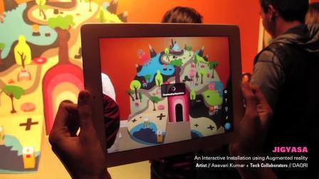 AR互动——会动的画