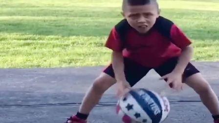 美国小学一年级的篮球水平真高, 国人的体质能扛不住这种训练