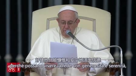 教宗呼吁为中国天主教徒祈祷 佘山圣母5.24