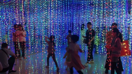 LED水镜宫万达站