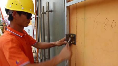 奥格兰氟碳铝塑板外墙安装视频