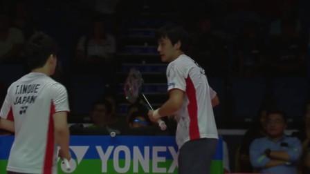2018汤姆斯杯半决赛精彩瞬间 日本男双杀你的措手不及