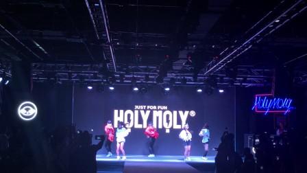 广州鼓舞倾城艺术团-女子流行舞《yeah!》潮牌holy moly新品发布会
