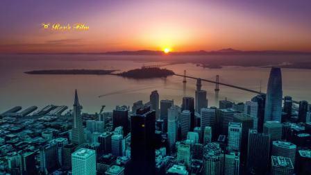 Sunrise in San Francisco 旧金山日出