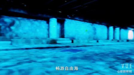 广州朗文光电 桥底下的过道 如鱼得水 户外效果灯具