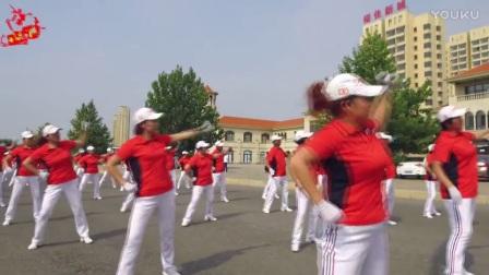 中国大金操【第二套】快乐舞步健身操原版_高清