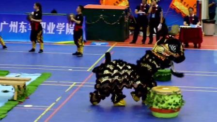 龙狮在线-广东科贸职业学院--男子丙组传统南狮