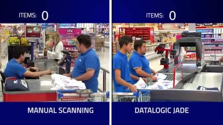 Datalogic Jade X7 全自动360度智能成像自助型框体扫描平台