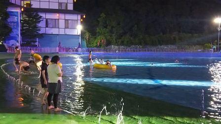深圳观澜山水田园生态水上乐园电音节